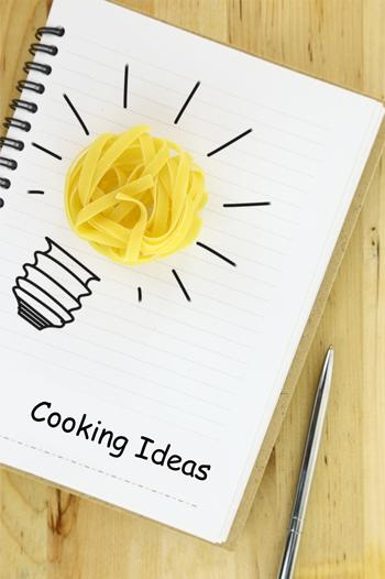 Making a family cookbook display image