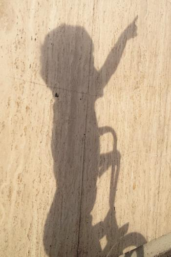 Shadow of a child