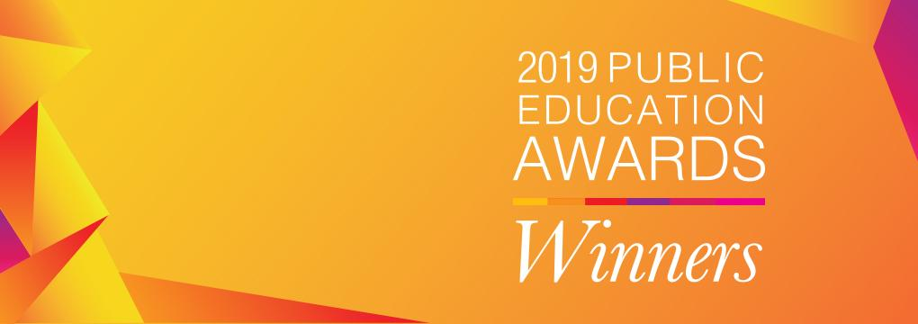 2019 public education awards winners announced