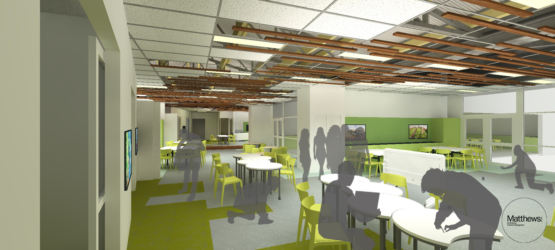 Urrbrae Agricultural High School - Collaborative space 2